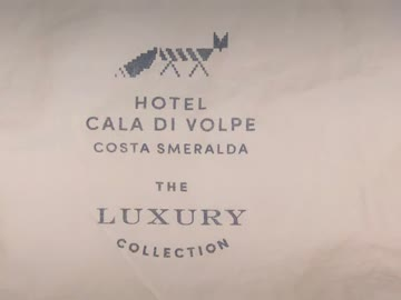 Stofftasche The Luxury Collection - Costa Smeralda