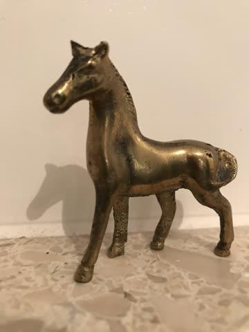 Pferd Bronze alt!