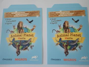 2 Päckli Animal Planet Migros