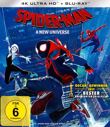 Spider-Man A New Universe 4K UHD Blu-ray Deutsch NEU