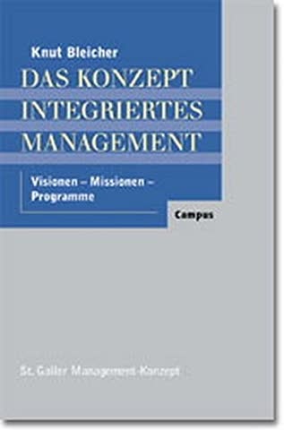 Das Konzept Integriertes Management (St. Galler Management-Konzept)