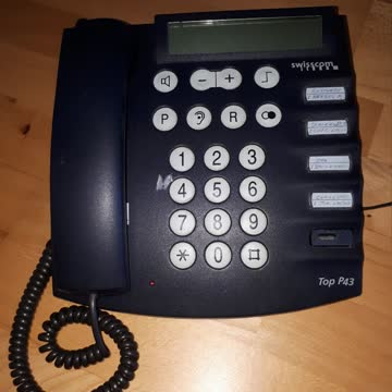 Festnetztelefon grosse Tasten Top P43 Swisscom