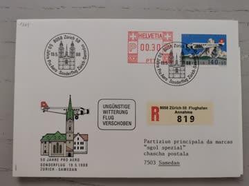 1988 Sonderbeleg Schweiz