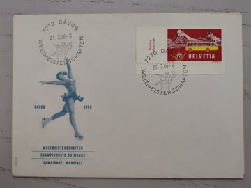 1966 Sonderstempelbeleg Schweiz