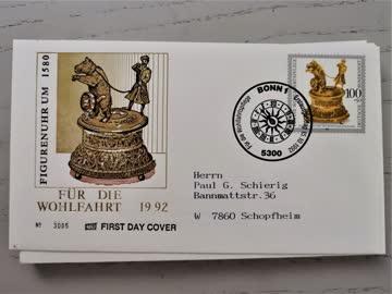 1992 FDC Deutschland