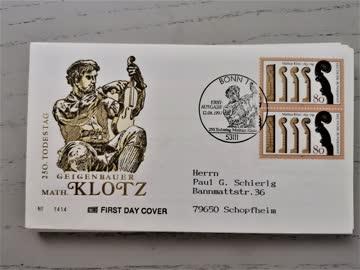 1993 FDC Deutschland