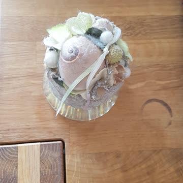 Hübsches Dekoteil aus Blumenboutique