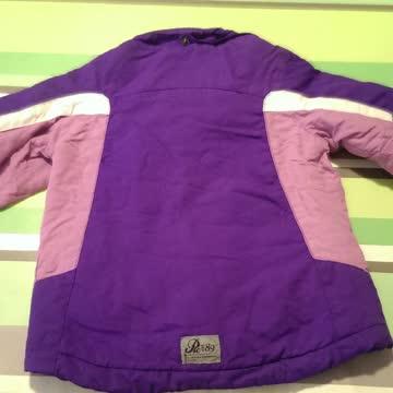 Winterjacke violette