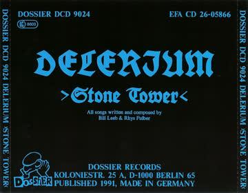 Delerium - Stone Tower (1991)