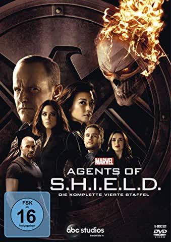 Marvel's Agents of S.H.I.E.L.D. - Staffel 4 [6 DVDs]
