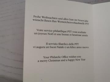 1982 Neujahrswünsche der PTT