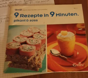 9 Rezepte in 9 Minuten mit QimiQ