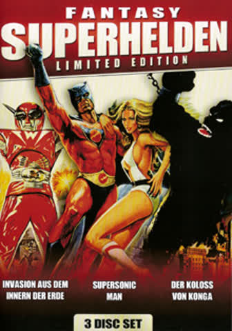 Fantasy Superhelden Box - (3 DVDs)