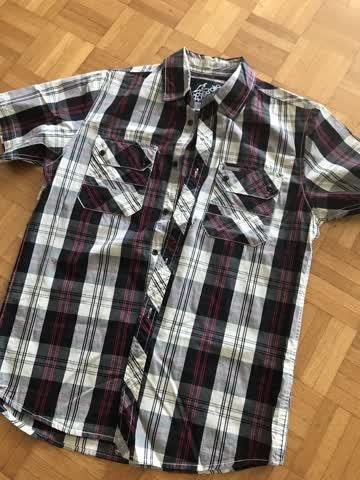Herren-Kurzarmhemd Gr. S