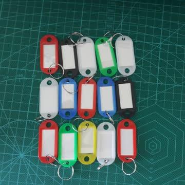 Farbige Schlüsselanhänger