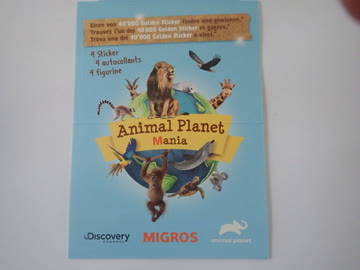 1 Päckli Animal Planet Mania