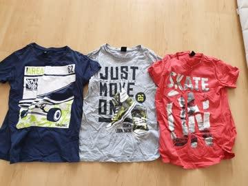 3 Shirts Jungs 158/164