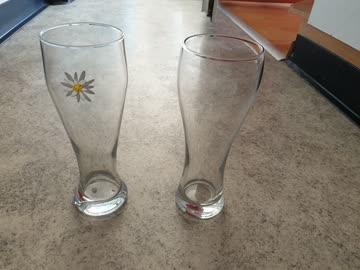 2 Biergläser
