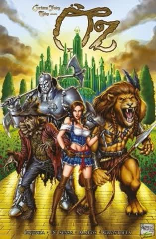 Grimm Fairy Tales präsentiert: Oz. Bd.1