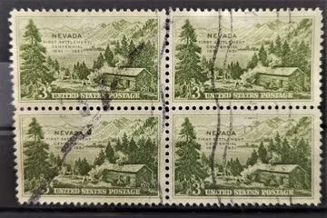 1951 USA Viererblock