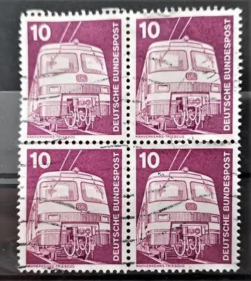 1975 Viererblock Deutschland