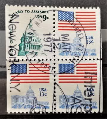 1977 Amerika Viererblock