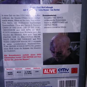 Tom Savinis Horror Effects