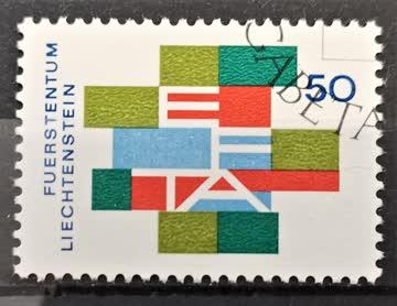 1967 Liechtenstein ET - Stempel