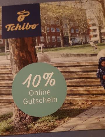 10% Gutschein Tchibo