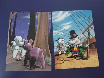 2 Postkarten unbeschrieben