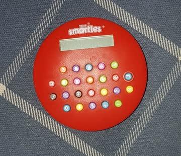 """Kleiner Taschenrechner """"smarties"""""""