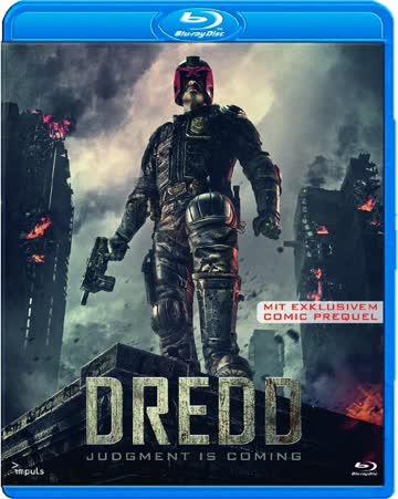 DREDD Judgment is Coming Blu-ray FSK 18 Deutsch