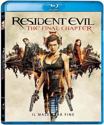 Resident Evil 6 The Final Chapter Blu-ray