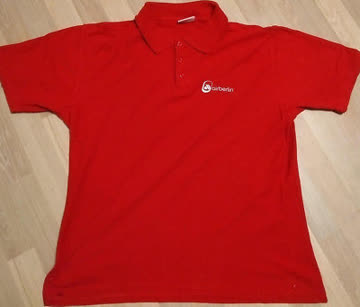 airberlin Poloshirt rot Damengrösse S (9)