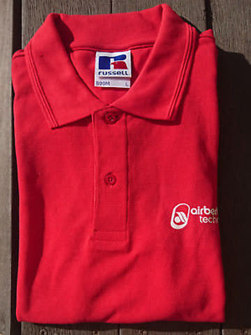 airberlin Poloshirt rot Damengrösse S (16)