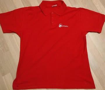 airberlin Poloshirt rot Damengrösse S (19)