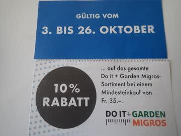 10% Rabatt Do it + Garden Surseepark