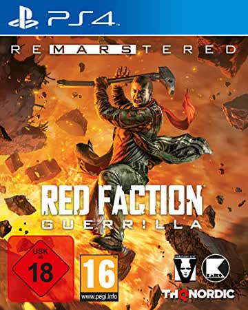 Red Faction Guerrilla Re-Mars-tered [Playstation 4]