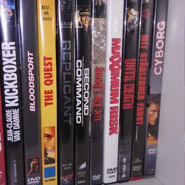 Van Damme Packet 19 DVD's