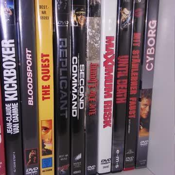 Van Damme Packet 19 DVD's