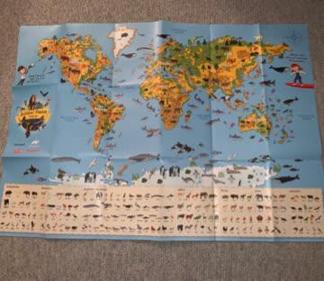 Animal Planet 52 verschiedene Sticker + Poster - Migros