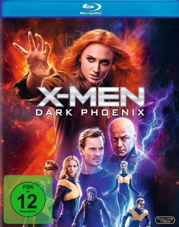 X-Men - Dark Phoenix [Blu-ray] [2019]