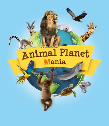 Animal Planet alle 156 Sticker inkl. Album und Weltkarte