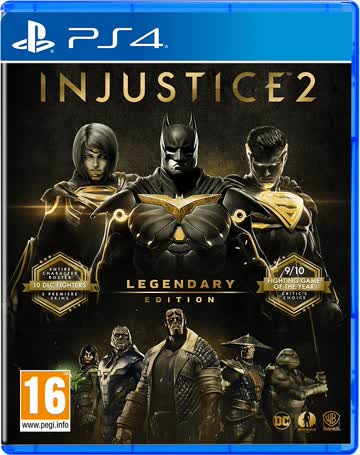 Injustice 2 PS-4 Legendary Ed. AT