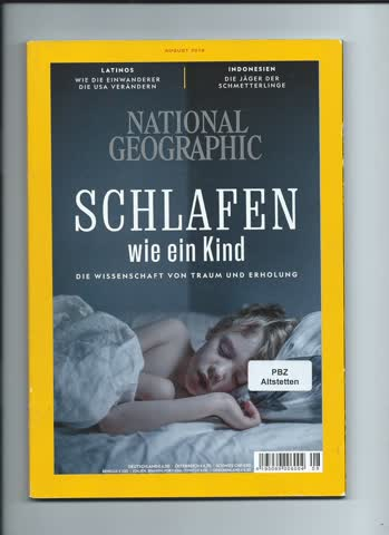 National Geographic / August 2018