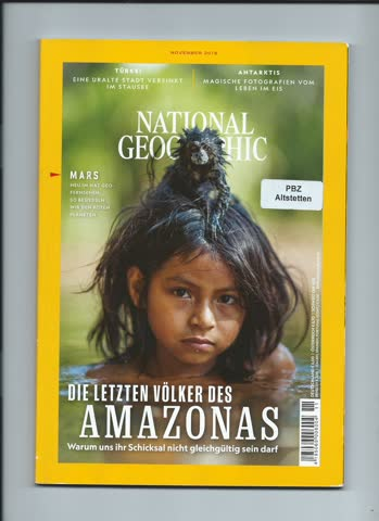 National Geographic / November 2018
