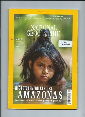 National Geographic / November 2018