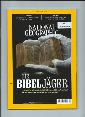 National Geographic / Dezember 2018