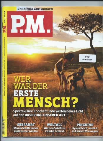 P.M. Neugierig auf Morgen / Oktober 2018
