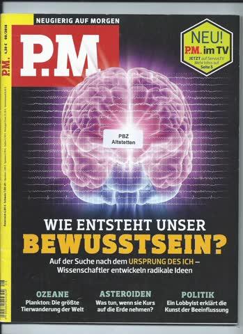 P.M. Neugierig auf Morgen / August 2018